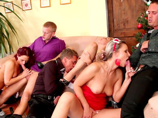 Stunning perverted orgy with awesome beauties