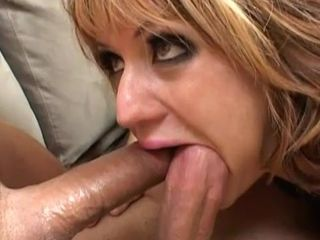 Awesome blonde sucks two big dicks