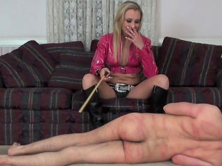 Stunning domination scene with an awesome blonde